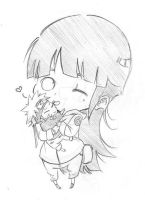 Naruhina-Plushie Cuddle by Flying-Snow-Drops