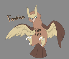 Fredrich the Noctowl by Tinnypants