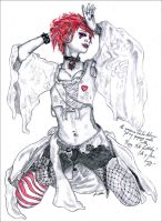 Emilie Autumn by LauraAshdown