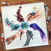 Artistic World by AtomiccircuS