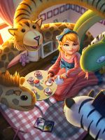 Scylla Child's Play by Andantonius