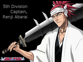 Captain Renji Abarai by Baldwin2023