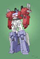 Powermaster Optimus Prime 3.0 by TGping