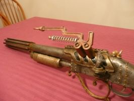 Steampunk Lightning Rifle by MatthewSilva