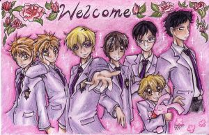 Puzzle no.1: Ouran Host Club by Hyper-piston