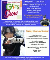 Cosplay at Manila Gift show by popazrael
