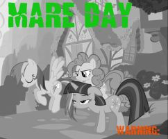 Mare Day - Warning CD Cover by JimmytheTiger696