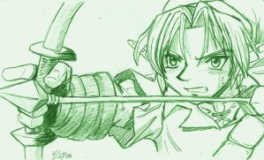 Link With a Bow by IncrediblyDeadlyPyth