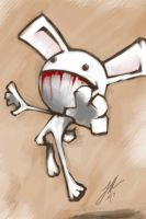 Scary Bunny by JHUBS