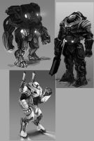 Armor Designs by LoopyWanderer