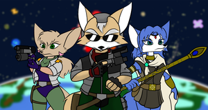 Star Fox: Trials of the Heart by Gathion
