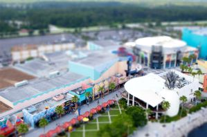 Downtown Disney - Tilt Shift 1 by wmandra