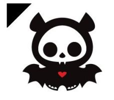 Skeleanimal Bat  Cursor by UmbraVGG