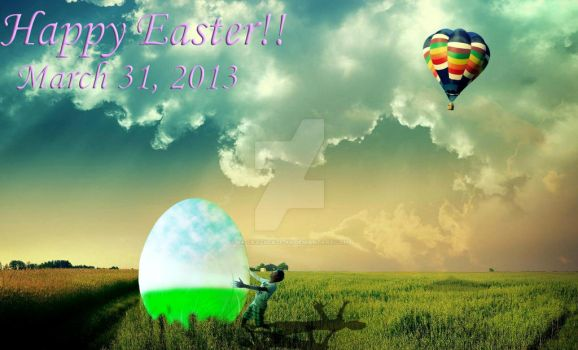 Easter Photo Manipulation by xx-crazydaze-xx