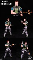 Resident Evil 5 Chris Redfield by Jin-Saotome