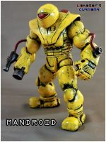 Classic Mandroid Portrait by Lokoboys
