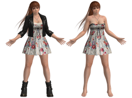 DOA5U Kasumi Casual costume (UPDATED) by zareef