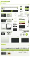 Green Touch UI 'getmyui.com' by ScriptKiddy