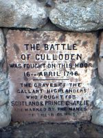 Culloden memorial stone by pnexus
