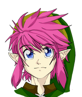 Link to the Past Link (colored) by TheLazyRulee