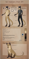 Kaz Reference Sheet 2014 by Palaeobat