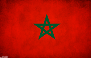 Morocco Grung flag by Aminebjd