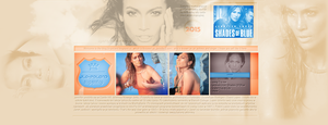 Ordered layout with Jennifer Lopez by redesignbea