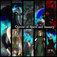 Queens of Spirits and Insanity 2 by RadioactiveWolf36