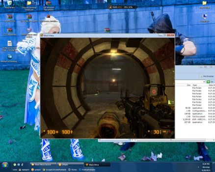 First time play Black Mesa Source by Remotary98