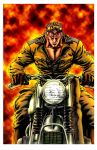 Ryu Sobu's Motorcycle COLOR by killowlsdead
