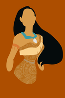 Graphic Pocahontas by InuyashaFK