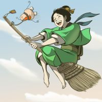 Flying Housekeeper by nippori