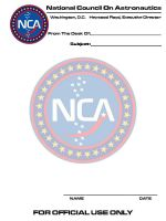 NCA Stationery, From 2001 by Carthoris