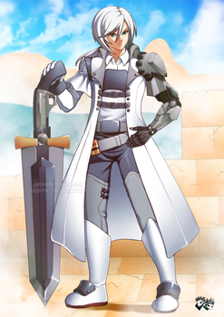 COMMISSION: Argent Horatius Sterling by jadenkaiba