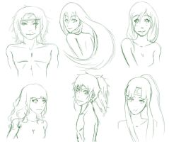 Winners of the Sketch Drawing by Shiori92