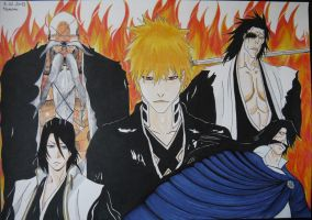 Bleach Final Arc by LaBelleEsmeralda