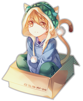 yukine(cat) by INstockee