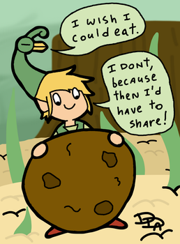 Link Minish Cookie by Sm-ArtThings