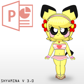 Shyamina V3 [PowerPoint/Flash render] by LuckyMintPop
