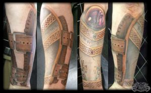 Vambrace by state-of-art-tattoo