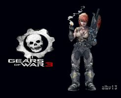 Alex - Gears of War 3 by alby13