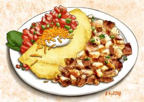 Spanish Omelet by pencilco