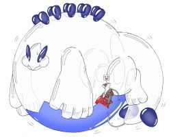 Balloonie Lugia Inflation by Wingfox