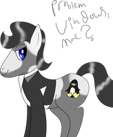 Tux Pony by ShadeRyuInari
