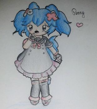 Art Trade : Perry by HomuPeachy