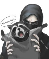 Thief And Raccoon by hyunhon