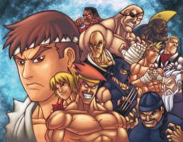 STREET FIGHTER 1 by GONZZO