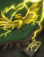 No. 145- Zapdos -Power Plant- by CloudsGirl7
