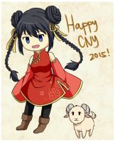 Happy Lunar New Year! by Kyoukouo