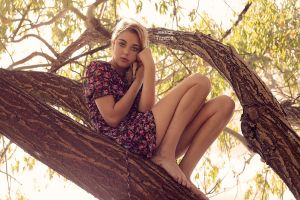 Lara in a Tree by fae-photography